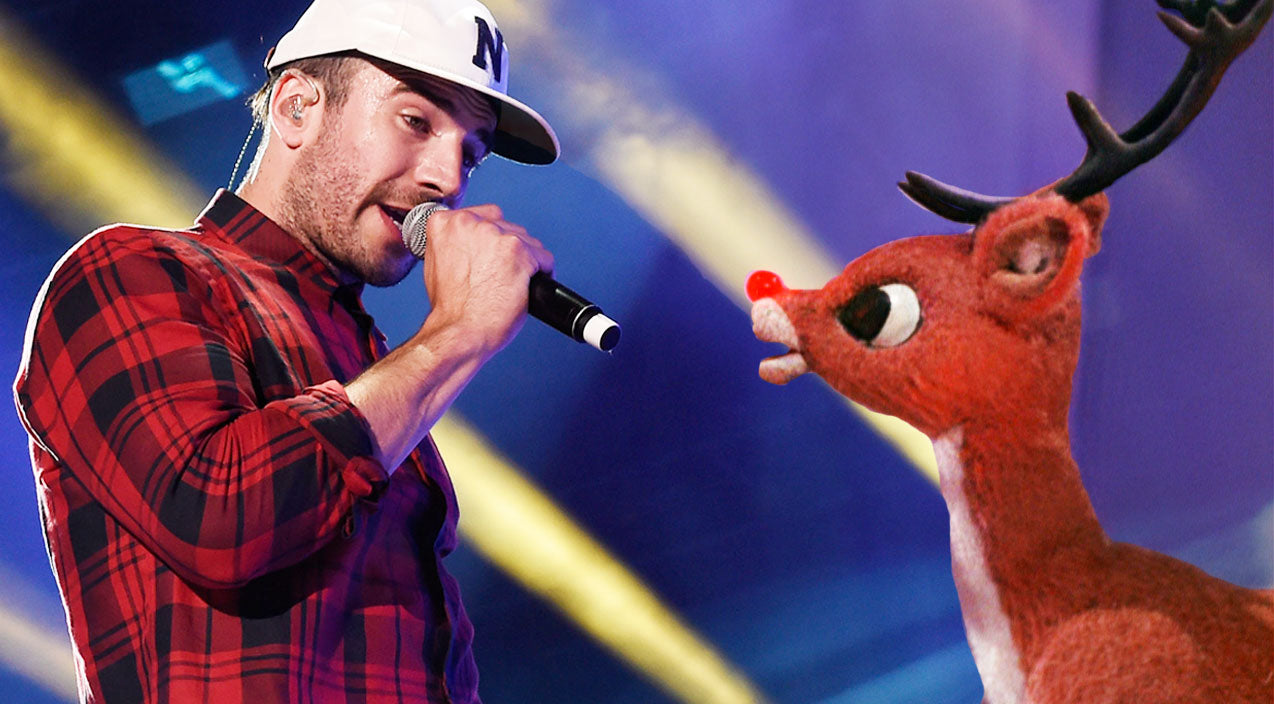 Sam hunt Songs | Sam Hunt Takes On 'Rudolph The Red-Nosed Reindeer' With Trademark Style | Country Music Videos