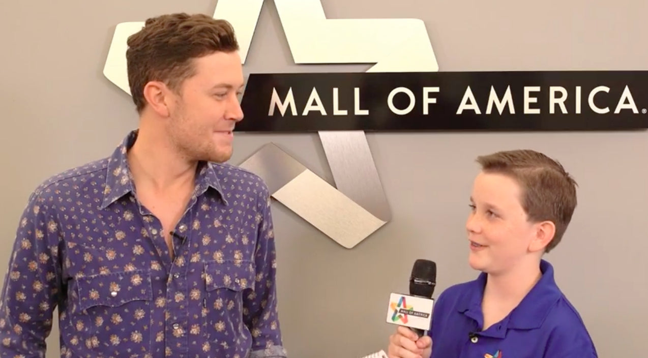 Scotty mccreery Songs | Scotty McCreery Tells Kid Interviewer Secret To Getting A Deep Voice | Country Music Videos