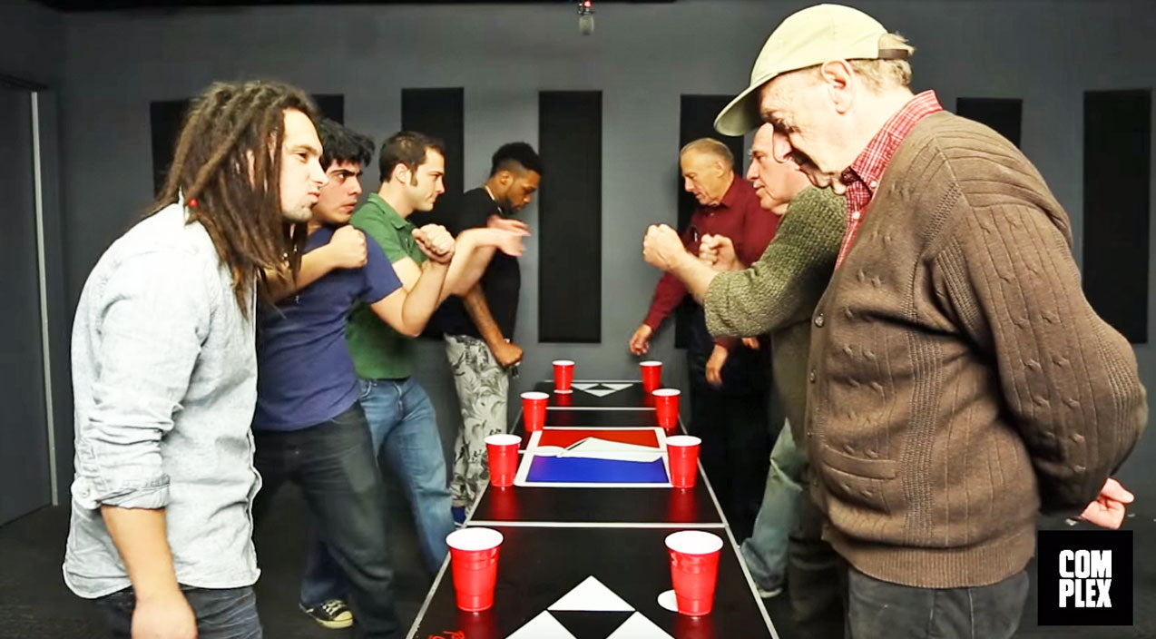 Old Men Fight For Bragging Rights In Epic Beer Pong Battle (HILARIOUS) | Country Music Videos