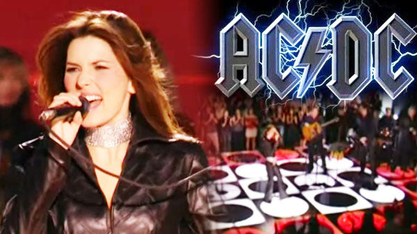 Shania twain Songs | Shania Twain - You Shook Me All Night Long (LIVE) (WATCH) | Country Music Videos