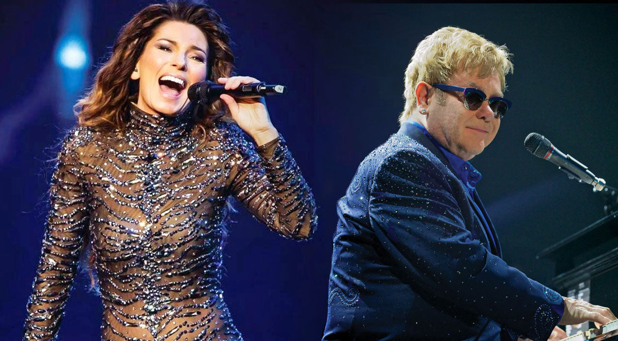 Shania twain Songs | Shania Twain Joins Elton John For Heart-Stopping 'Still The One' Duet | Country Music Videos