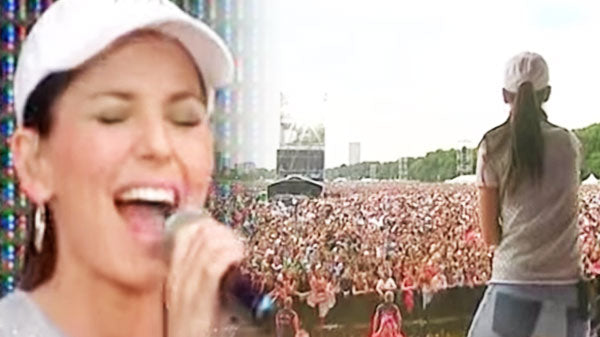 Shania twain Songs | Shania Twain - Thank You Baby! (Party In The Park 2003) (VIDEO) | Country Music Videos