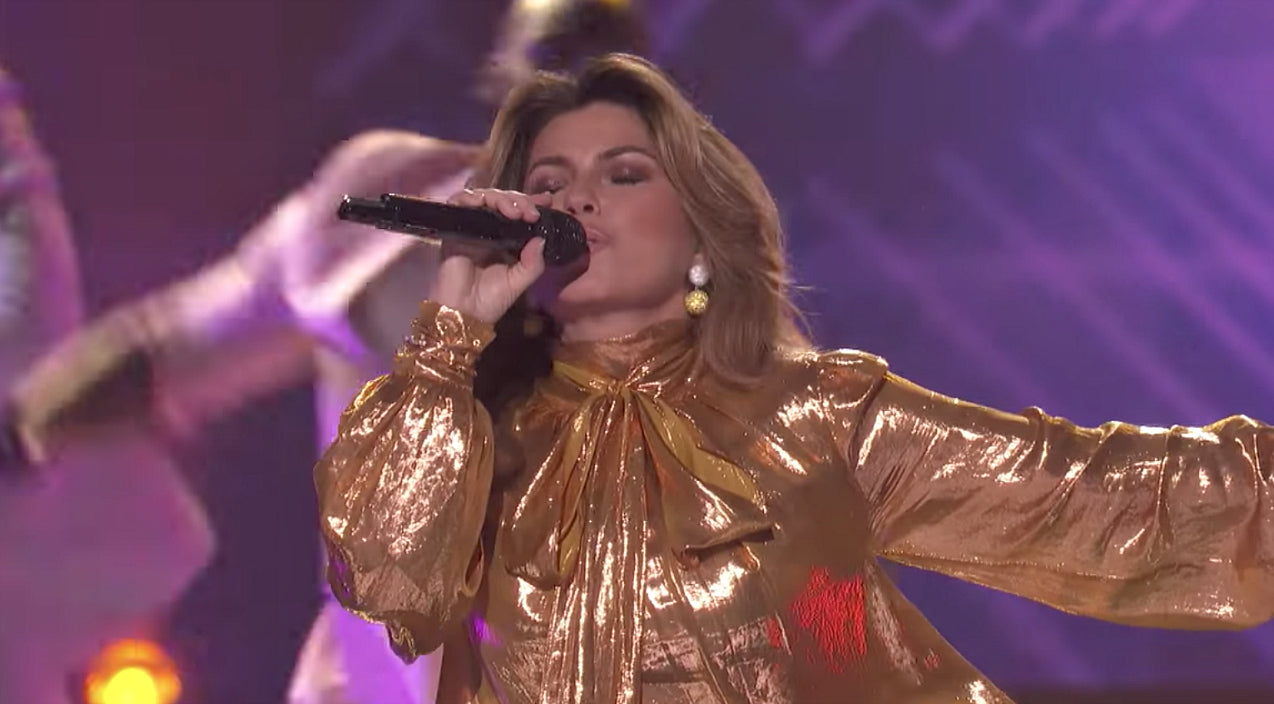 Shania twain Songs | Shania Twain Rocks The House With Dance-Worthy Performance Of 'Life's About To Get Good' | Country Music Videos