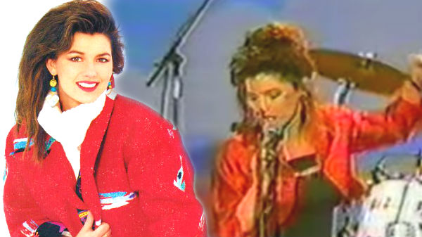 Shania Twain - Crime Of The Century (Rare Video 1993 Live) | Country Music Videos