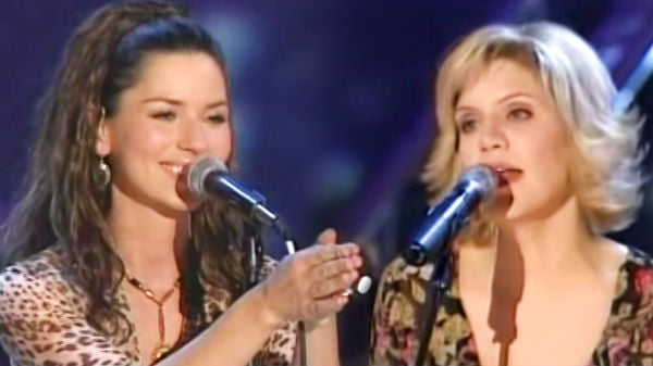 Shania twain Songs | Shania Twain and Alison Krauss - Forever And For Always (Live) | Country Music Videos