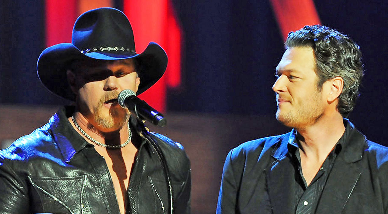 Trace adkins Songs | HILARIOUS: Trace Adkins Unexpectedly Interrupts Blake Shelton's Interview | Country Music Videos