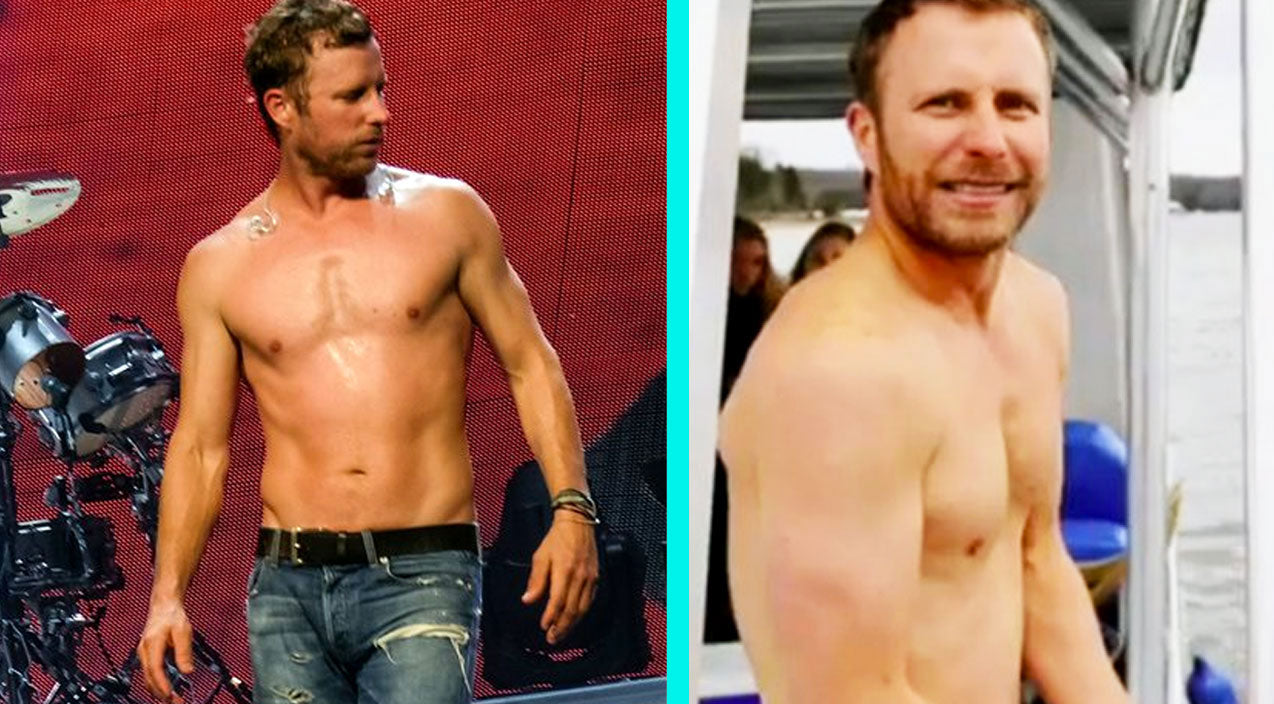 These 10 Shirtless Country Singers Show You What Sexy