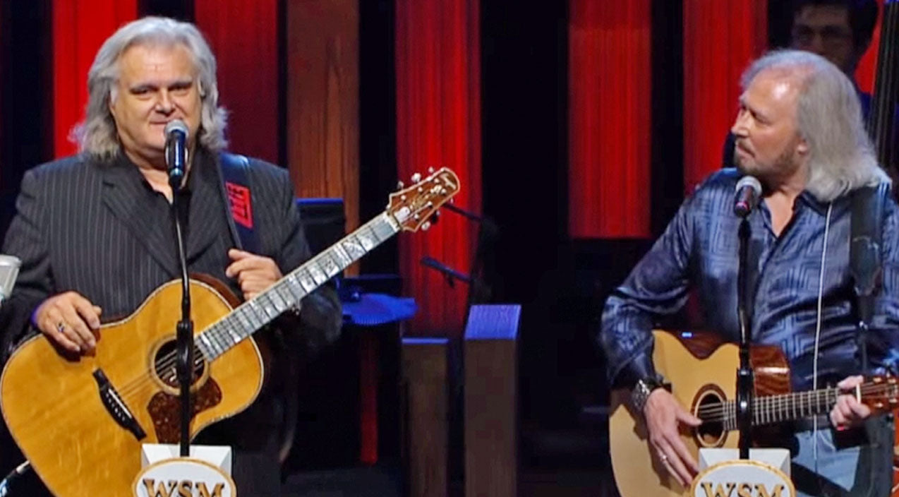 Ricky skaggs Songs | Ricky Skaggs & BeeGees' Barry Gibb Dedicate Heartfelt Tribute To Late Brother | Country Music Videos