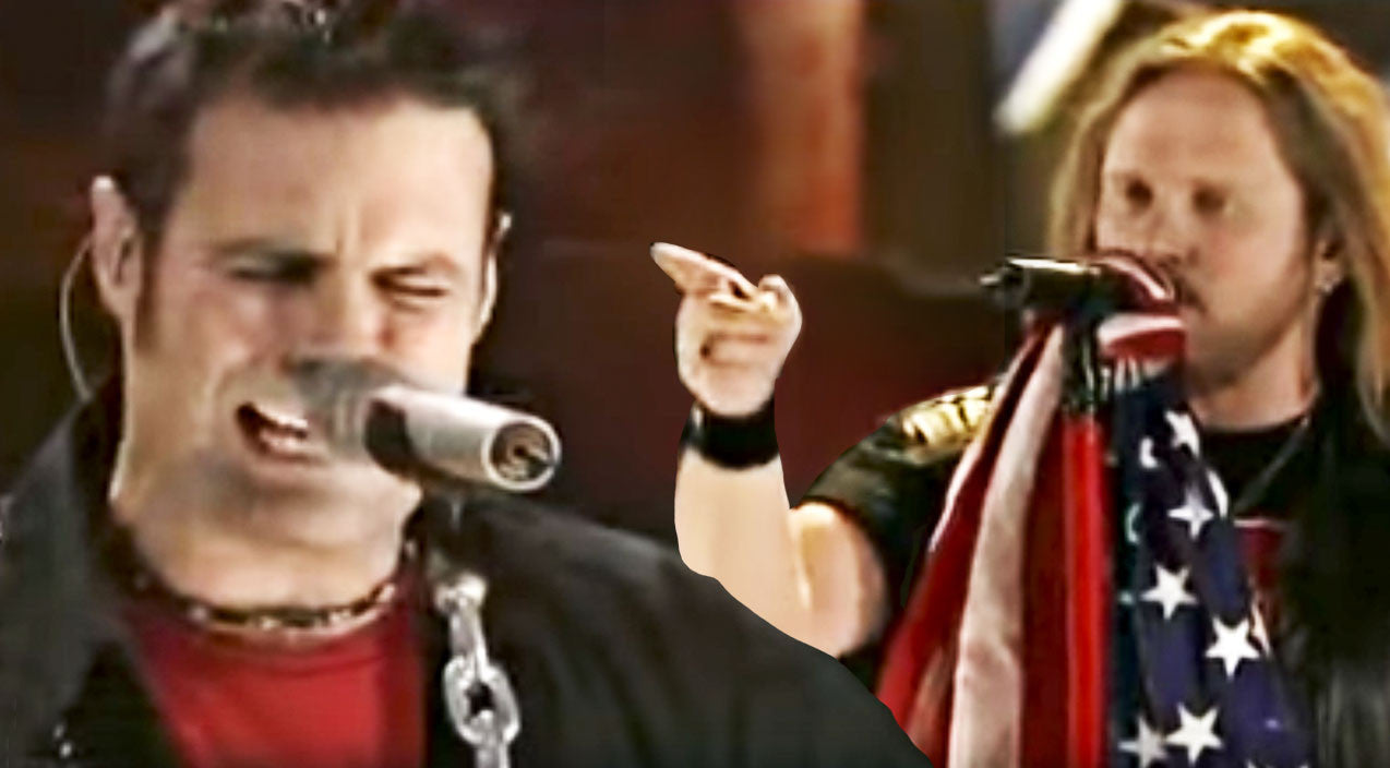 Montgomery gentry Songs | Montgomery Gentry Joins Skynyrd For Booming Tribute To Freedom | Country Music Videos