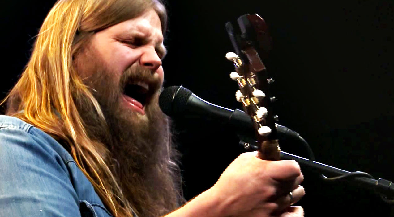 Chris stapleton paralyzes audience with old school styled for What songs has chris stapleton written