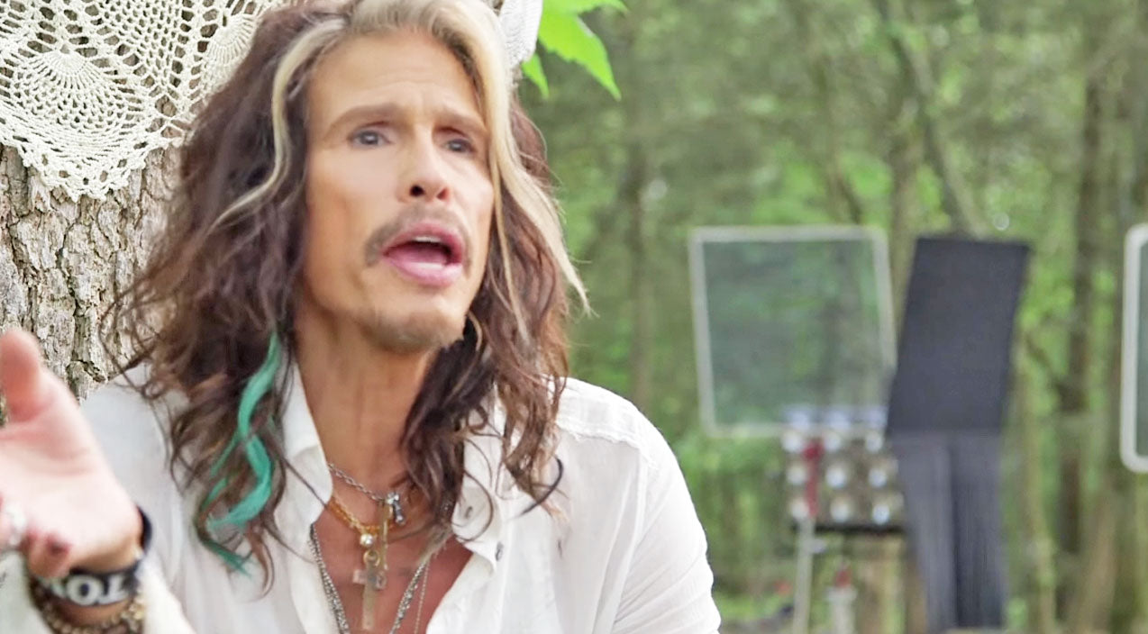 Steven tyler Songs | Steven Tyler Explains His Crossover To Country Behind The Scenes Of 'Love Is Your Name' | Country Music Videos