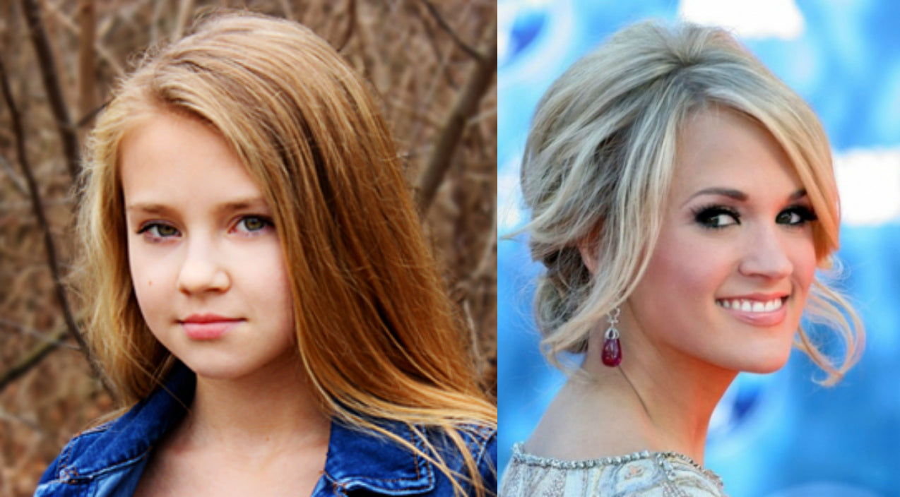 Tegan marie Songs | 10-Year Old Wows With Cover Of Carrie Underwood's