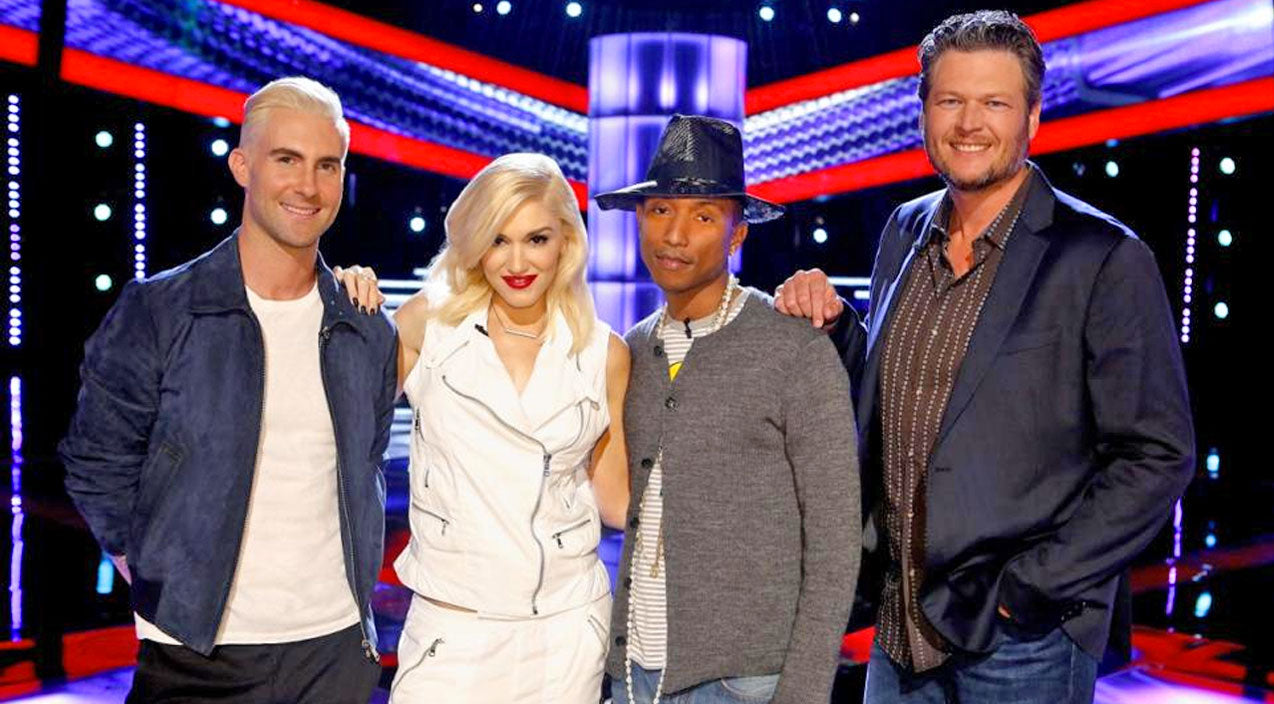 Pharrell williams Songs | 'The Voice' Coaches Wow With 'Have Yourself A Merry Little Christmas' | Country Music Videos