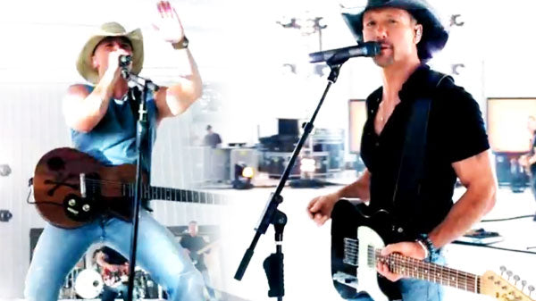 Tim McGraw and Kenny Chesney - Feel Like A Rock Star (WATCH) | Country Music Videos