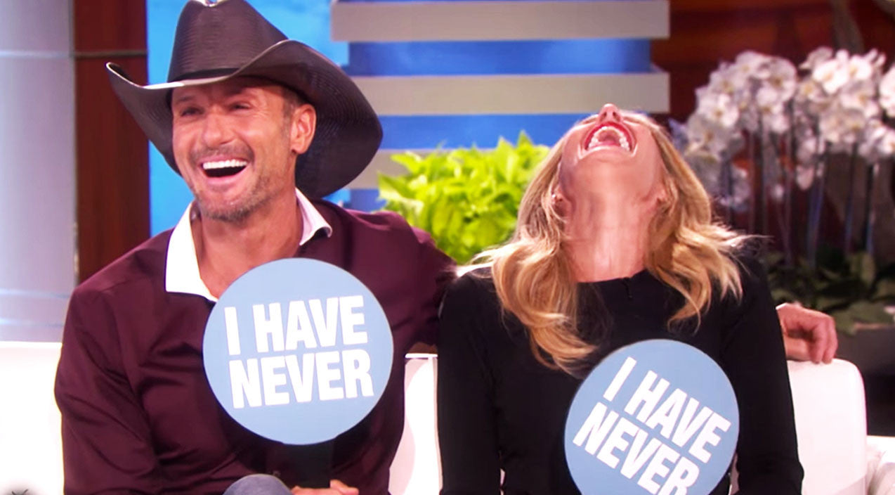 Tim mcgraw Songs | Tim & Faith Play Hysterical Newlywed Game With Ellen | Country Music Videos