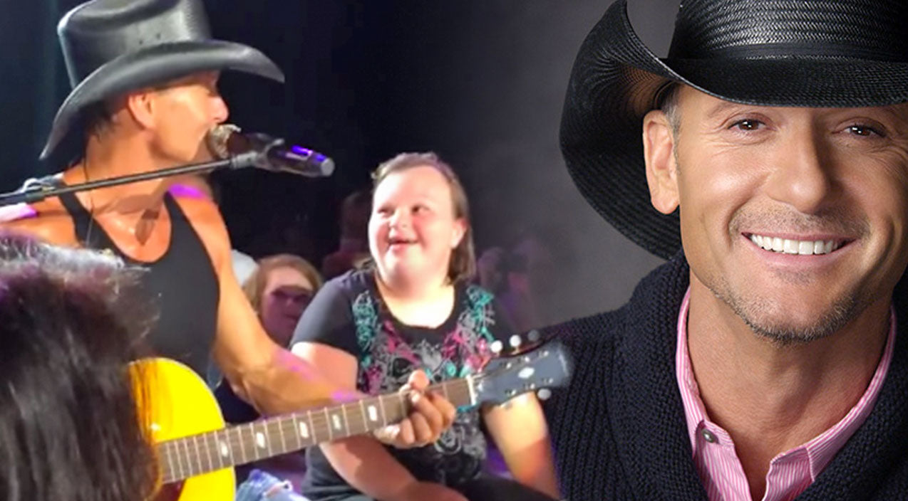 Tim mcgraw Songs | Tim McGraw Serenades Adorable Fan And Surprises Her With An Amazing Gift (VIDEO) | Country Music Videos