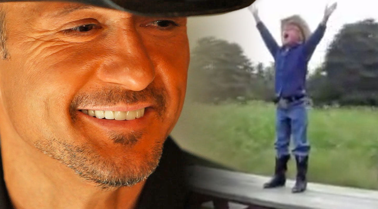 Tim mcgraw Songs | Little Cowboy's Music Video For Tim McGraw's