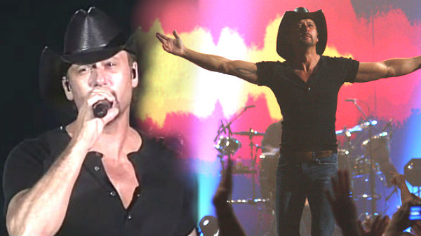 Tim mcgraw Songs | Tim McGraw - For A Little While (2009 Live) | Country Music Videos