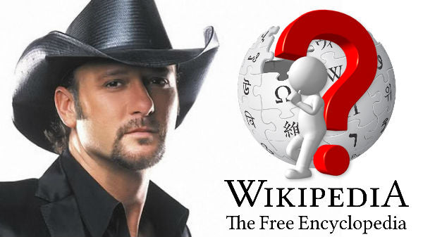 Tim mcgraw Songs   Tim McGraw - Wikipedia: Fact or Fiction? (VIDEO)   Country Music Videos