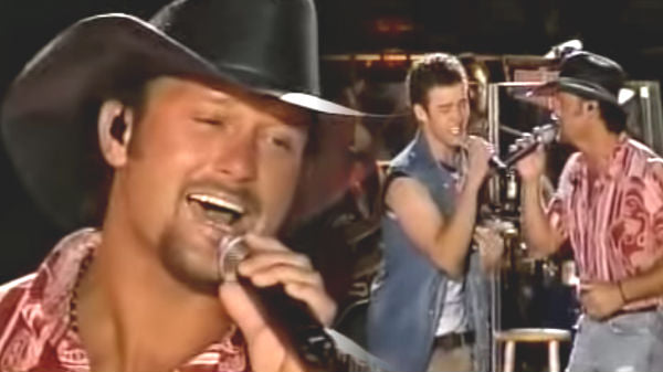 Tim mcgraw Songs | Tim McGraw And 'N Sync Medley (Live) (VIDEO) | Country Music Videos