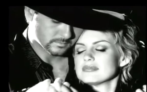 Tim mcgraw Songs | Tim McGraw & Faith Hill Sing Dreamy Duet 'Just To Hear You Say That You Love Me' | Country Music Videos