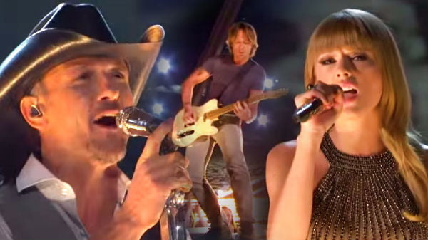 Tim mcgraw Songs | Tim McGraw with Taylor Swift and Keith Urban - Highway Don't Care (ACM Awards 2013) (WATCH) | Country Music Videos