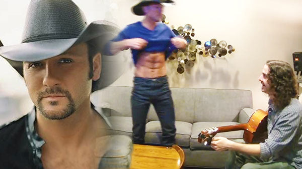 Tim mcgraw Songs | Tim McGraw and Ellen Degeneres Prank Unsuspecting Guitar Tuner (Hilarious) (VIDEO) | Country Music Videos