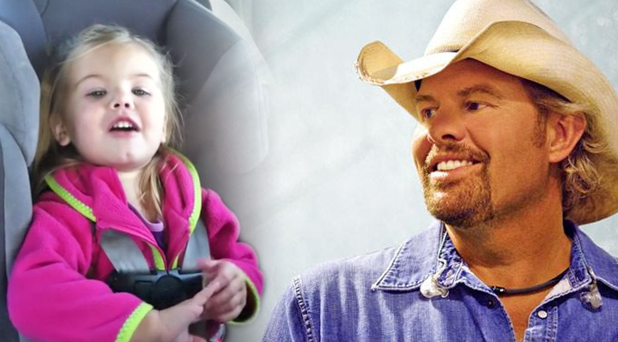 Toby keith Songs   3-Year-Old Little Girl Belts Out Toby's Keith's