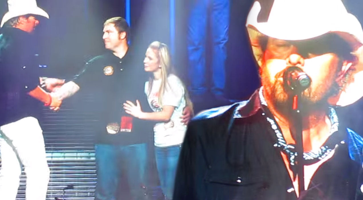 Toby keith Songs | Toby Keith Honors Veteran With An Unexpected Surprise At Arizona Concert (WATCH) | Country Music Videos