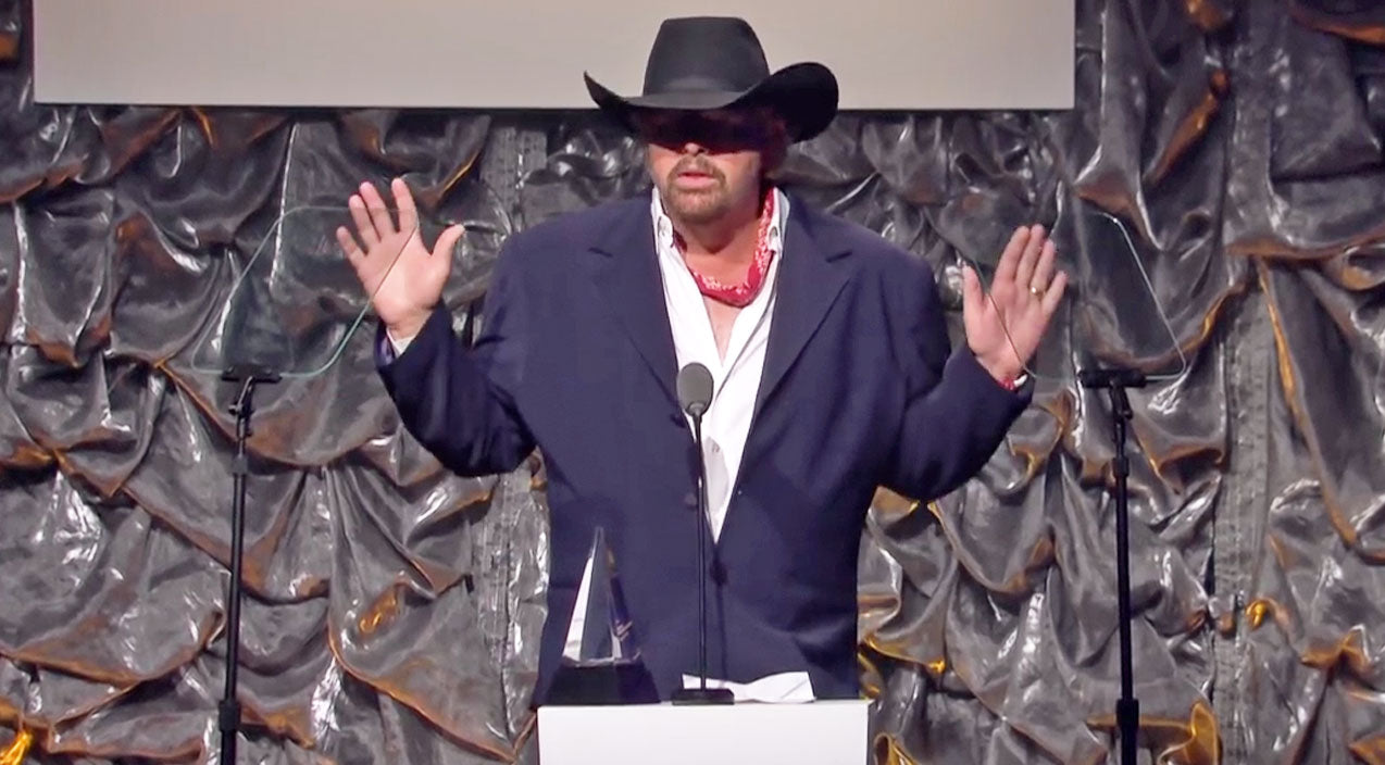 Country Music Legend Toby Keith Is Humbled By This Songwriting Honor (VIDEO) | Country Music Videos