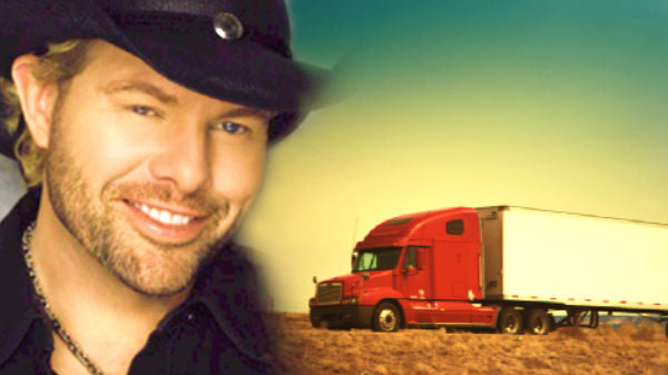 Toby keith Songs | Toby Keith - Truck Drivin' Man | Country Music Videos