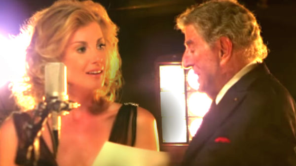 Tony bennett Songs | Tony Bennett and Faith Hill - The Way You Look Tonight | Country Music Videos