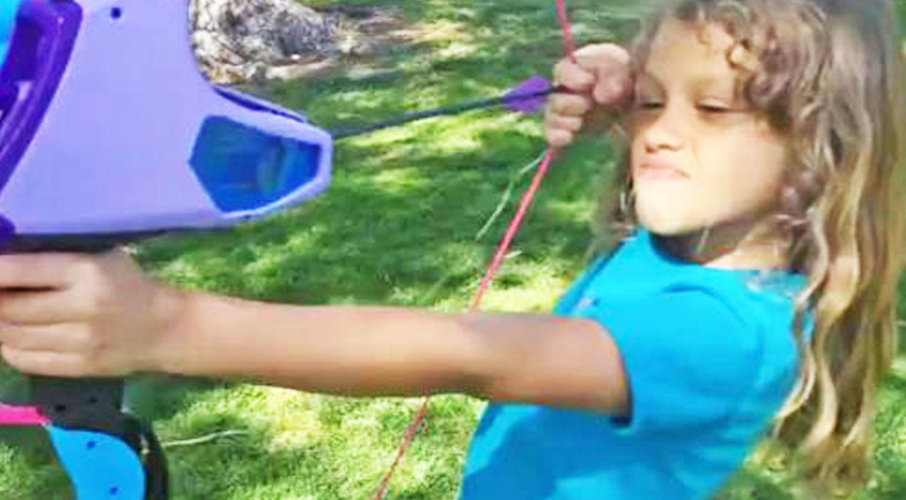 She Ties Her Loose Tooth To The End Of An Arrow and Fires Away! OUCH! | Country Music Videos