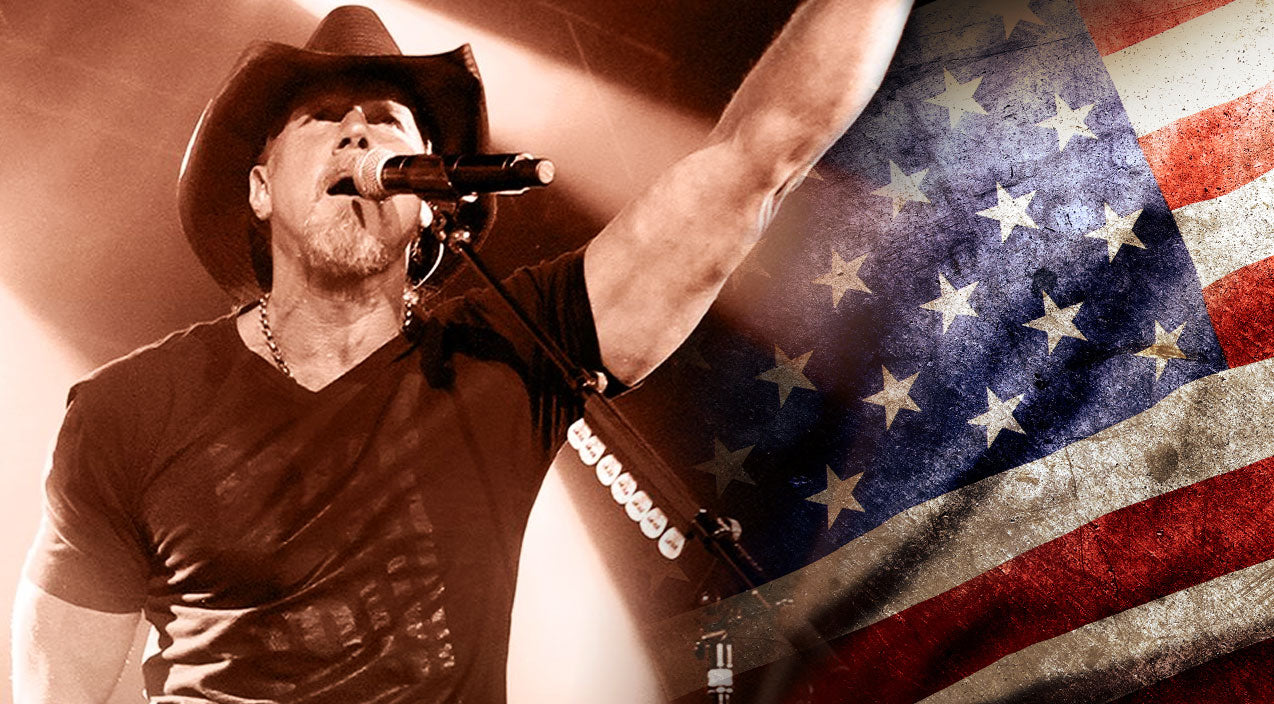 Trace adkins Songs | Trace Adkins Bleeds Red, White & Blue With Tribute To American Grit | Country Music Videos
