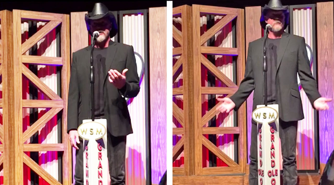 Trace adkins Songs   Trace Reveals The ONE Scary Thing That Nearly Stopped His Opry Debut   Country Music Videos