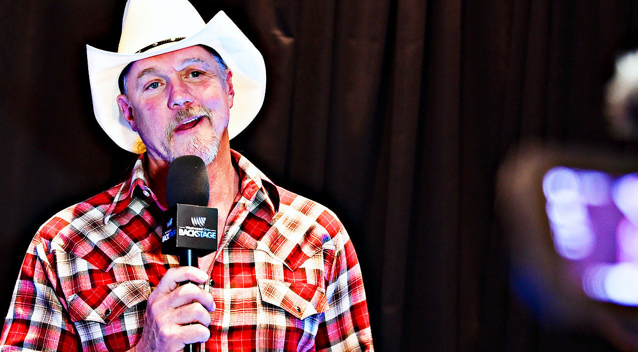 Trace adkins Songs   Trace Adkins Unearths The Secret To Becoming A Country Star   Country Music Videos