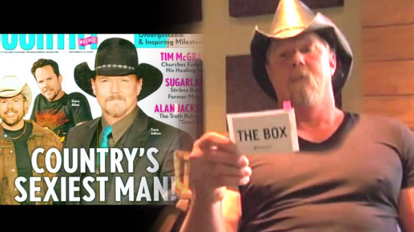 Trace adkins Songs | Trace Adkins Vs. The Box (WATCH) | Country Music Videos