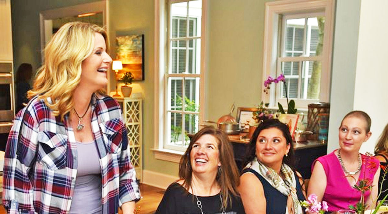 Trisha yearwood Songs | Trisha Yearwood Honors Her Mother's Memory With A Tearful Lunch For Cancer Survivors | Country Music Videos