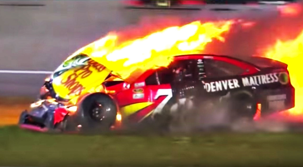 Nascar Songs | NASCAR Driver's Dreams End In Fiery Crash | Country Music Videos