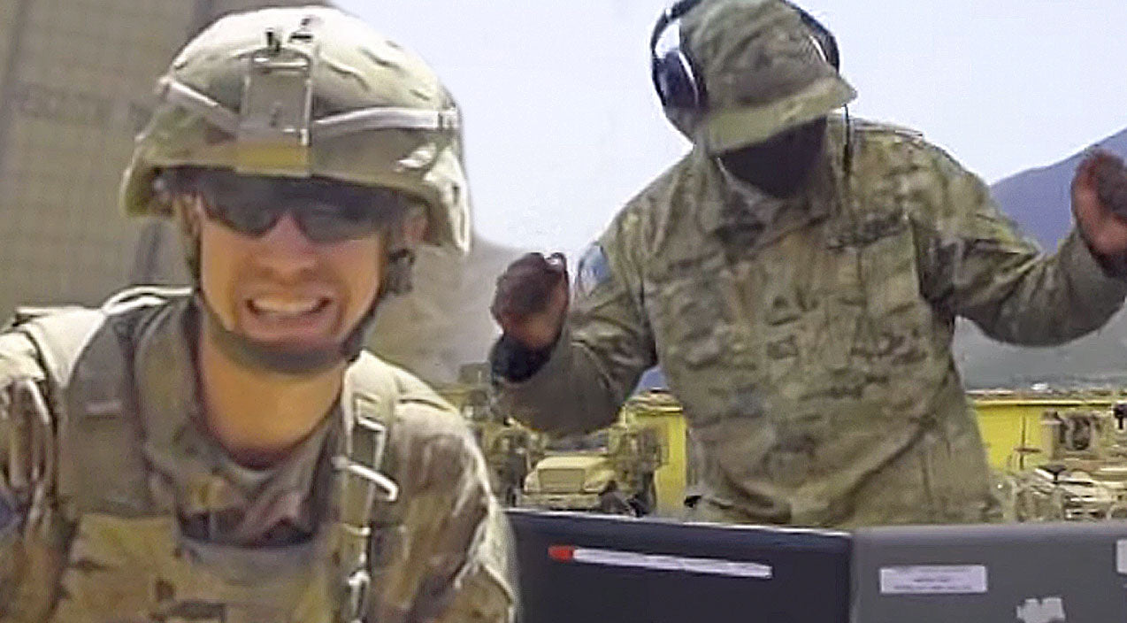 Classic country Songs   U.S Army Troops Create Fantastic Theatrical Cover Of