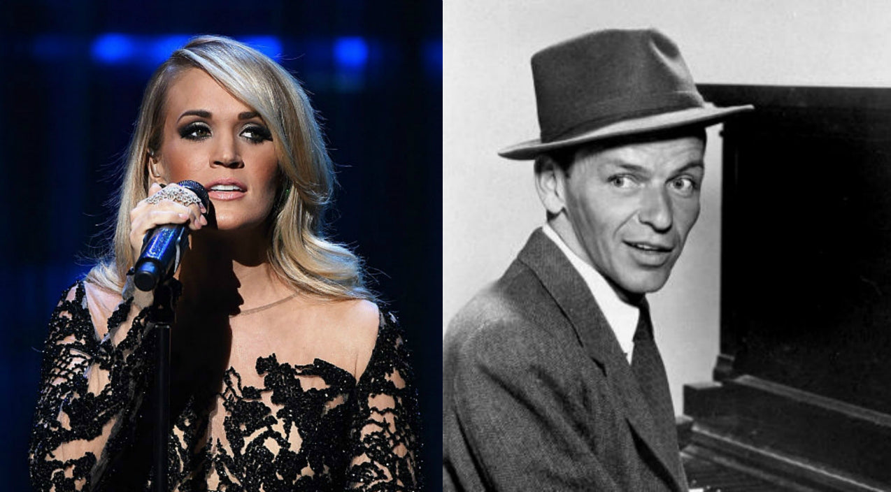 Frank sinatra Songs | Carrie Underwood Honors Frank Sinatra With Tear-Jerking Rendition Of 'Someone To Watch Over Me' | Country Music Videos