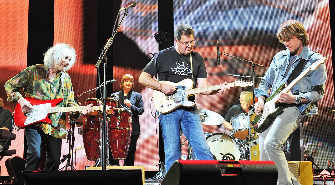 Vince gill Songs | Vince Gill Rocks Out With Eric Clapton, Keith Urban, Keith Richards & Albert Lee (VIDEO) | Country Music Videos