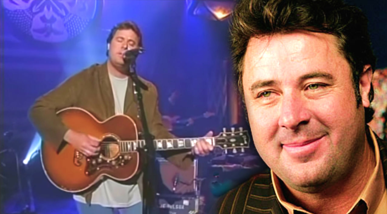 Vince gill Songs | Vince Gill - Blue Eyes Crying in the Rain | Country Music Videos