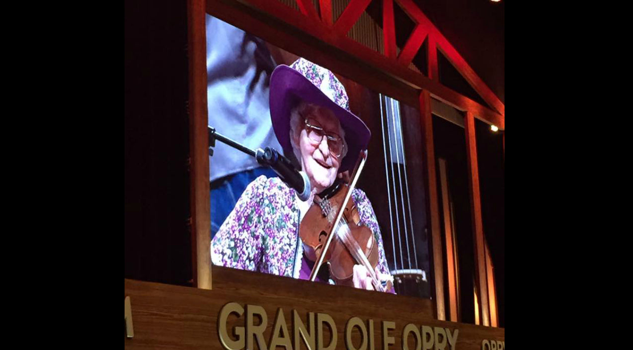 Grand ole opry Songs | 99-Year Old Fiddler Fulfills Dream To Perform On Grand Ole Opry | Country Music Videos