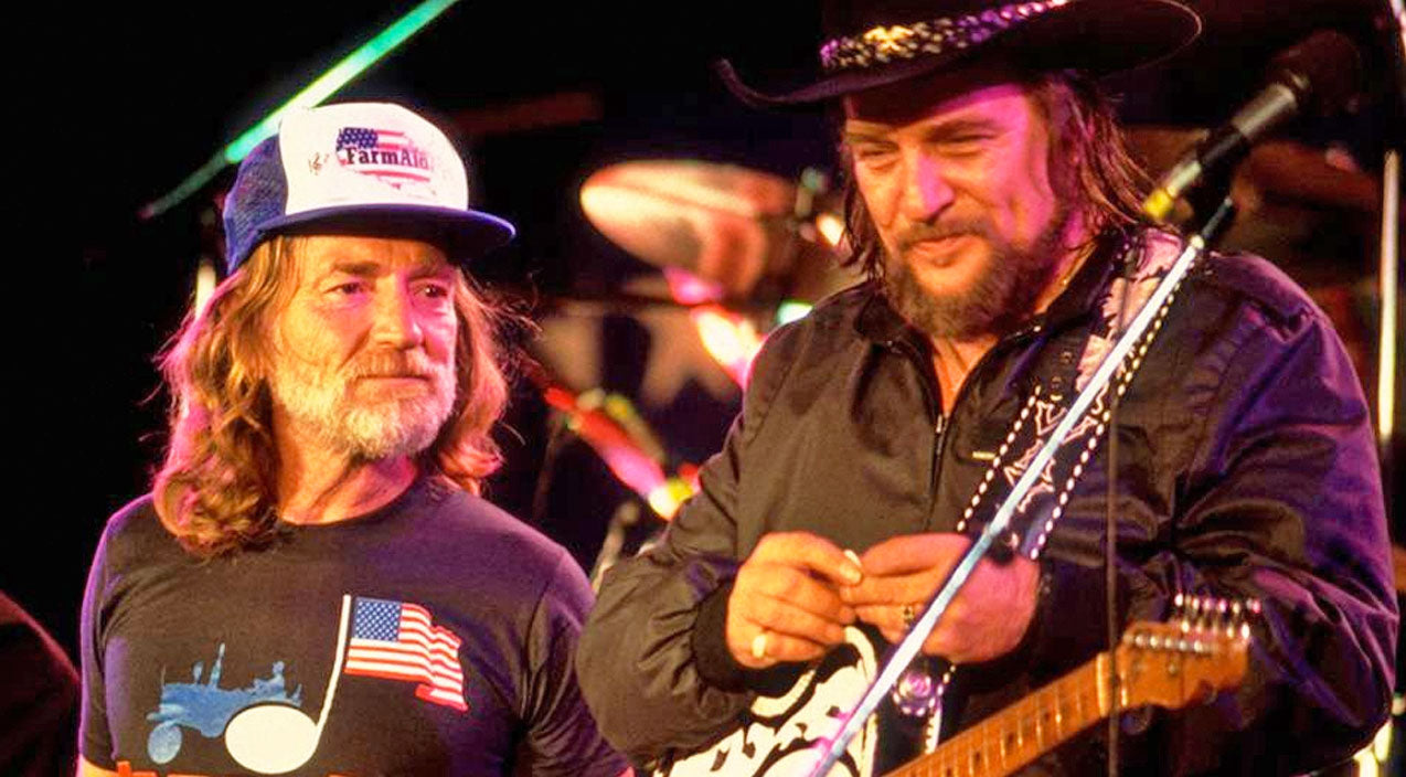 Willie nelson Songs | Blast From The Past: Willie Nelson Joins Waylon Jennings For 'Good Hearted Woman' Circa 1987 | Country Music Videos