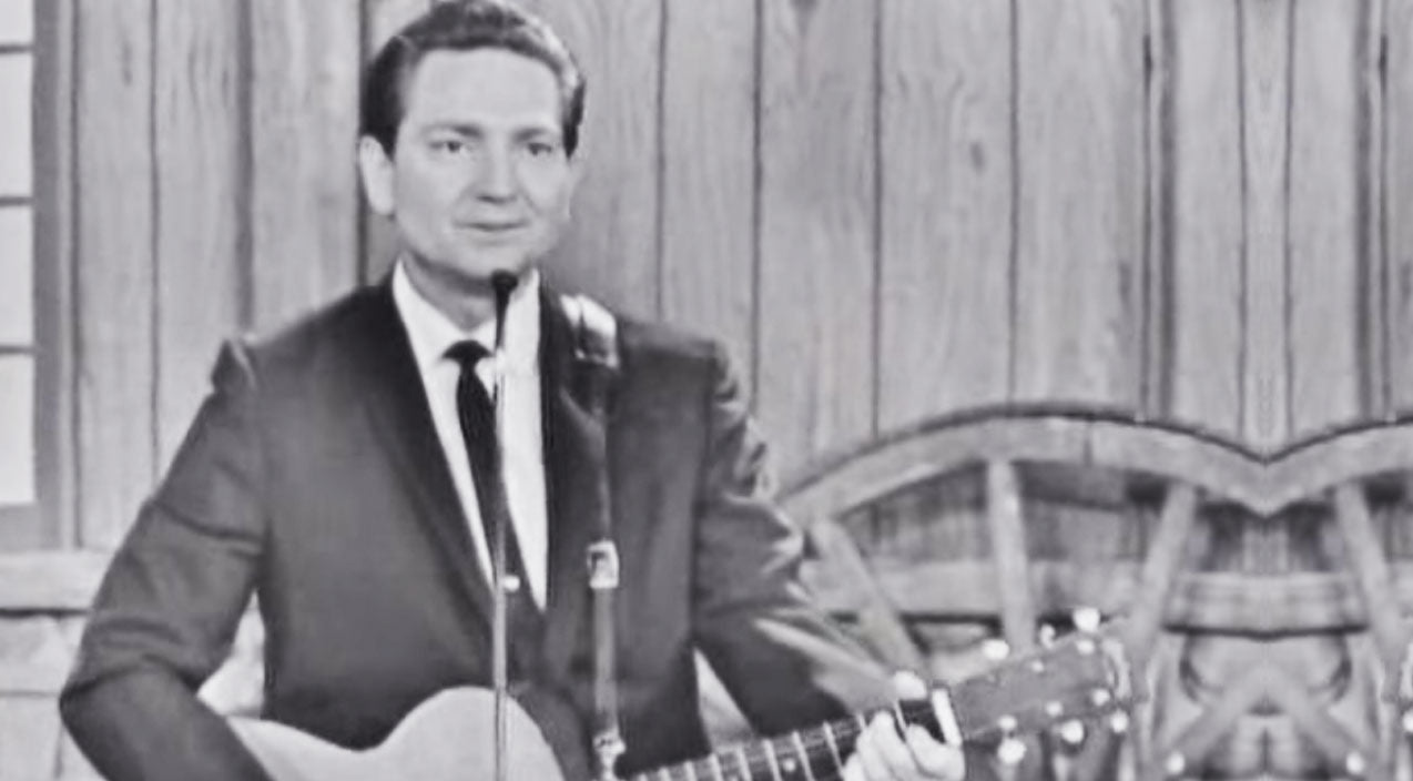 Willie nelson Songs | RARE: A Beard-less, Braid-less Willie Nelson Plays 'Hello Walls' On The Porter Wagoner Show (1965) | Country Music Videos