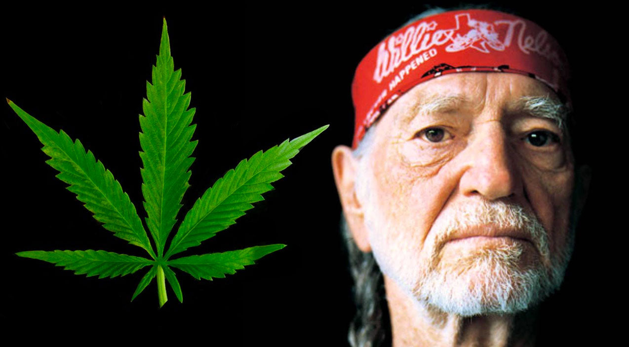 Willie nelson Songs | WILLIE'S WEED WAR: Support Local Farmers To Take Down 'Big Pot' | Country Music Videos
