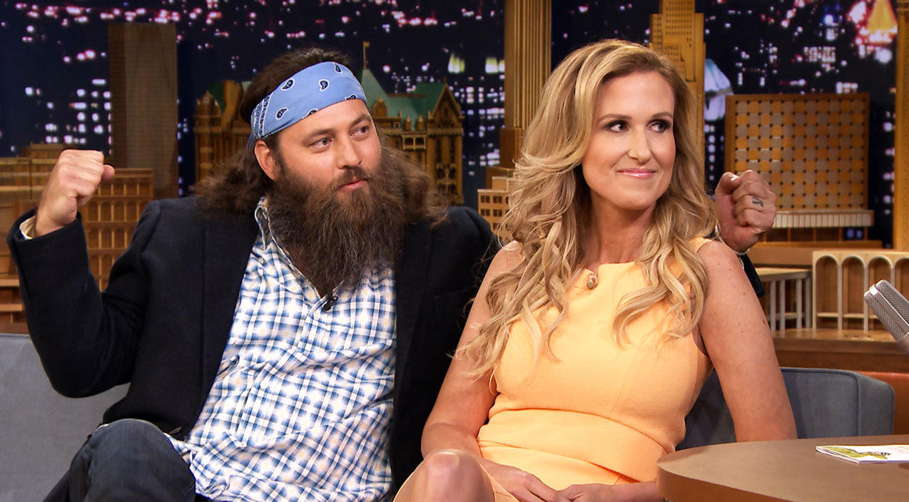 Willie robertson Songs | Willie and Korie Robertson Tell Jimmy Fallon How They Met (Cute!) (WATCH) | Country Music Videos