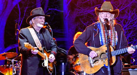 Willie nelson Songs | Willie Nelson And Merle Haggard Show Stop With 'Pancho And Lefty' | Country Music Videos