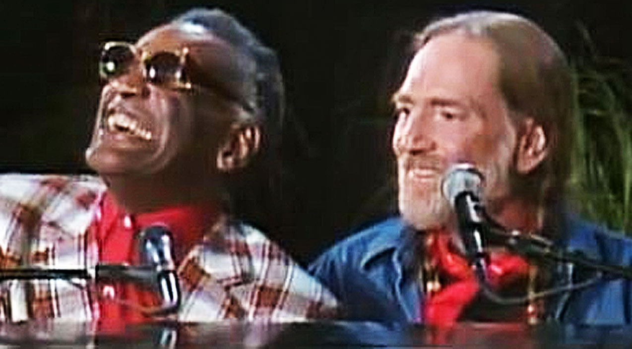 Willie nelson Songs | Willie Nelson & Ray Charles WOW With Live Performance Of 'Georgia On My Mind' | Country Music Videos